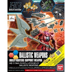 HGBC High Grade Build Custom - No. 031 - 1/144 - Ballistic Weapons