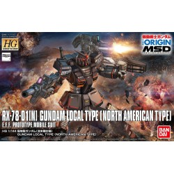 HG GTO No. 017 1/144 Local Type Gundam (North American Custom)
