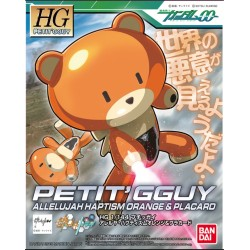 HGPG 1/144 Puchigguy Allelujah Haptism Orange & Placard