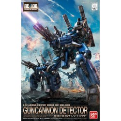 RE/100 Reborn-One Hundred - No. 008 - 1/100 - Guncannon Detector