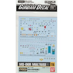 GD-116 for RG 1/144 MS-06R General Use 1