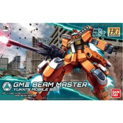 HGBD High Grade Build Divers - No. 002 - 1/144 - RGM-86RBM GM III Beam Master