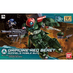 HGBD - No. 003 - 1/144 - GH-001RB Grimoire Red Beret