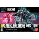 HGUC No. 209 1/144 RX-79BD-3 BLUE DESTINY UNIT 3 EXAM