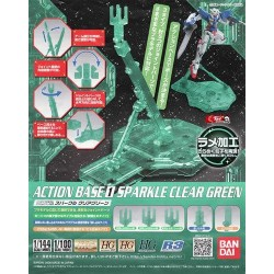 Action Base 1 Sparkle Clear Green Ver.