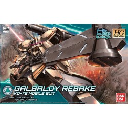 HGBD High Grade Build Divers - No. 010 - 1/144 - RMS-117G11 Galbaldy Rebake