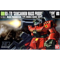 HGUC - No. 044 - 1/144 - RX-77D Guncannon Mass Production Type