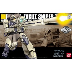 HGUC - No. 071 - 1/144 - MS-05L Zaku I Sniper Type