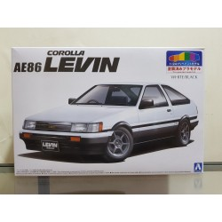 Aoshima - 1/24 - Toyota AE86 Corolla Levin Pre-Painted Model Kit