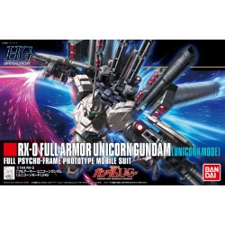 HGUC - No. 156 - 1/144 - RX-0 Full Armor Unicorn Gundam [Unicorn Mode]