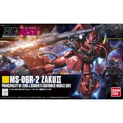 HGUC - No. 166 - 1/144 - MS-06R-2 Johnny Ridden's Zaku II