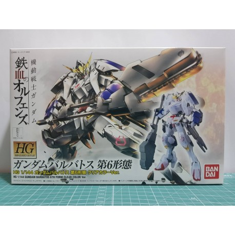 Limited - HG Iron-Blooded Orphans - 1/144 - ASW-G-08 Gundam Barbatos 6th Form Clear Color Ver.
