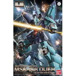RE/100 Reborn-One Hundred - 1/100 - No. 004 - MSK-008 Dijeh