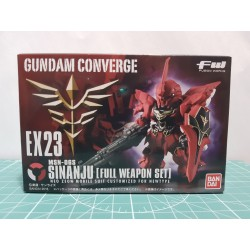 FW Gundam Converge - EX 23 - MSN-06S Sinanju [Full Weapon Set]