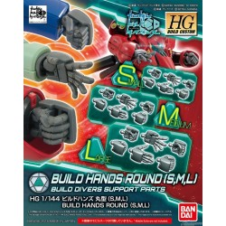 HGBC - No. 044 - 1/144 - Build Hands Round [S,M,L]