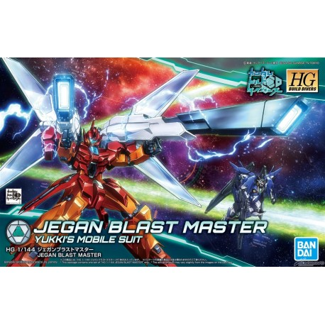 HGBD High Grade Build Divers - No. 016 - 1/144 - Jegan Blast Master