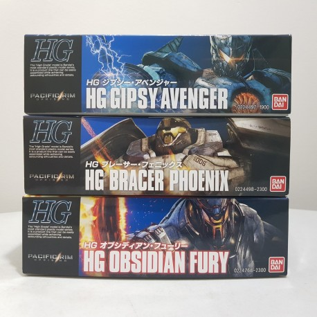 Bandai - HG High Grade - Pacific Rim Uprising Model Kit Set