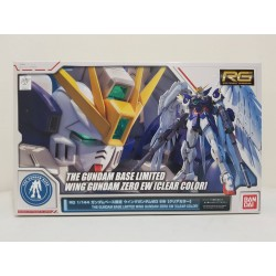 The Gundam Base Limited - RG Real Grade - 1/144 - Wing Gundam Zero EW [Clear Color]
