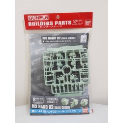 Builders Parts HD - BPHD-75 - MS Hand 02 Zaku Green
