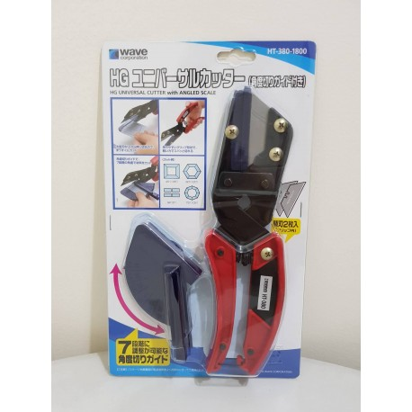 HG Universal Cutter with Angle Cutting Guide by WAVE