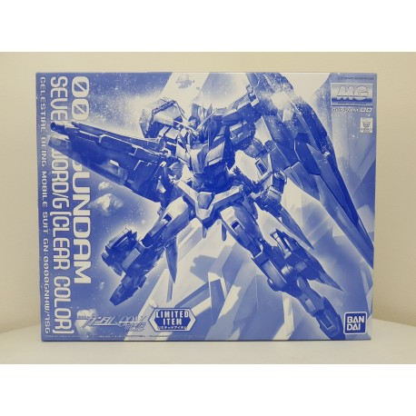 The Gundam Base Limited - MG Master Grade - 1/100 - 00 Gundam Seven Sword/G [Clear Color]