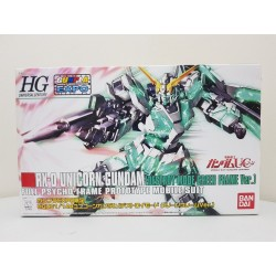 Gundam Expo - HGUC - 1/144 - Unicorn Gundam [Destroy Mode] Green Frame Ver.