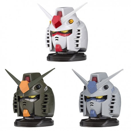 PRE-ORDER Mobile Suit Gundam - EXCEED MODEL - GUNDAM HEAD VOL. 1 (9 PACKS/BOX)