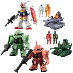 PRE-ORDER - MS GUNDAM - MICRO WARS (10 PACKS/BOX)
