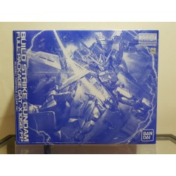 MG Master Grade - 1/100 - GAT-X105B/FP Build Strike Gundam Full Package Plavsky Particle Clear Ver.