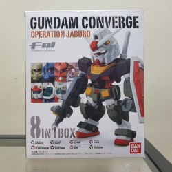 PRE-OWNED FW Gundam Converge Operation Jaburo (8 pcs/Box)