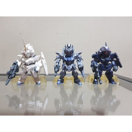 PRE-OWNED FW Gundam Converge Limited For Overseas Only - Triple Set