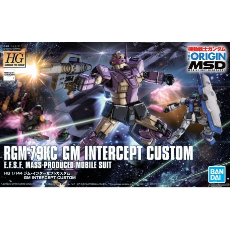 PRE-ORDER HG Gundam The Origin - No. 023 - 1/144 - GM Intercept Custom