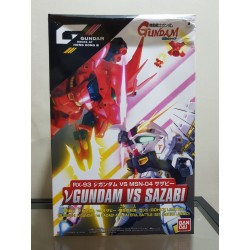 GDHKIII Limited - SD Super Deformed - Nu Gundam Vs. Sazabi - The Fateful Battle Set