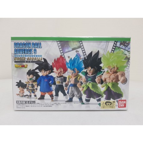 Dragon Ball Adverge 9 Movie Special Set