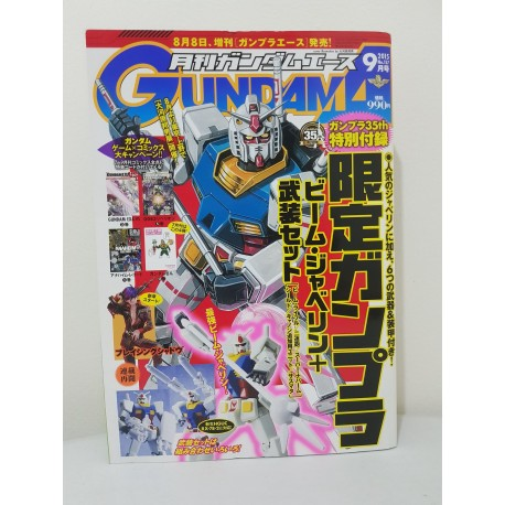Gundam A September 2015 Manga