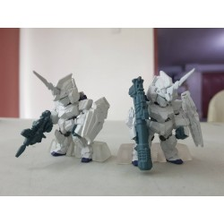 PRE-OWNED FW Gundam Converge No. 007 Unicorn Gundam [Unicorn Mode] Set