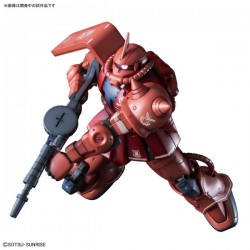 PRE-ORDER - HG GUNDAM THE ORIGIN - NO. 024 - 1/144 - Char's Zaku II Red Comet Ver.