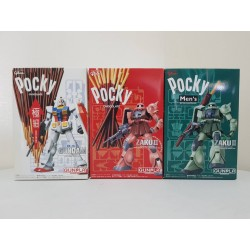 GUNPLA Pocky Ver. Set