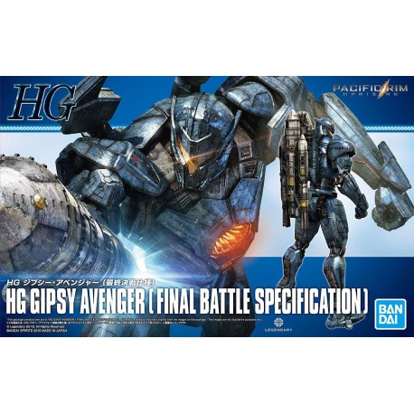 HG HIGH GRADE - PACIFIC RIM: UPRISING - GIPSY AVENGER (FINAL BATTLE SPECIFICATIONS)