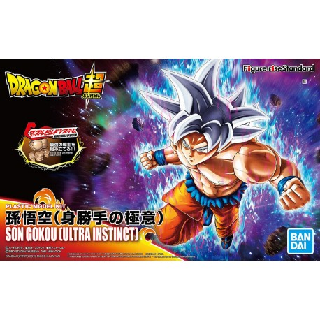 FIGURE-RISE STANDARD - DRAGON BALL Z - SON GOKU (ULTRA INSTINCT)