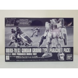 P-Bandai - HGUC - 1/144 - RX-79[G] Gundam Ground Type [Parachute Pack]