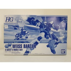 P-BANDAI - HGBF HIGH GRADE BUILD FIGHTERS - 1/144 - Weiss Barzam