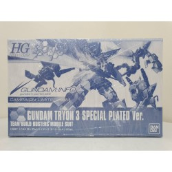 Campaign Limited - HGBF - 1/144 - Gundam Tryon 3 Special Plated Ver.