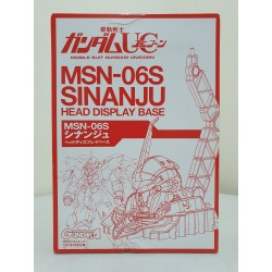 1/48 MSN-06S Sinanju Head Display Base