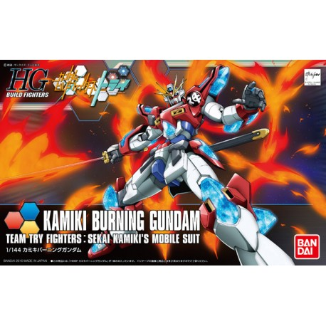 HGBF High Grade Build Fighters - No. 043 - 1/144 - KMK-B01 Kamiki Burning Gundam