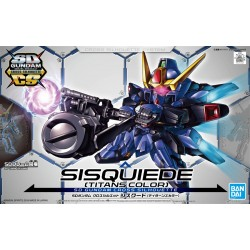 SDCS SUPER DEFORMED CROSS SILHOUETTE - NO. 010 - SISQUIEDE (TITANS COLORS)