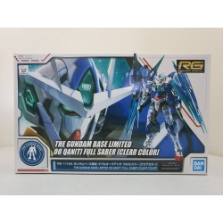 The Gundam Base Limited - RG Real Grade - 1/144 - 00 Qan[T] Full Saber [Clear Color]