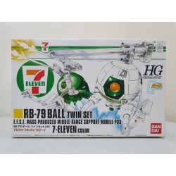 HGUC - 1/144 - RB-79 Ball Twin Set 7-Eleven Color Ver.