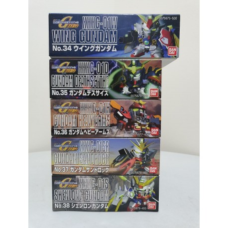 SD Super Deformed - Gundam Wing Set