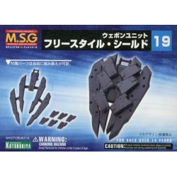 Kotobukiya - Modeling Support Goods (M.S.G.) - MW19R - FREESTYLE SHIELD